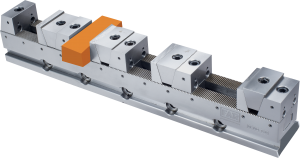 The FAR Modular Multiple Vise Clamps several components of different size and shape at the same time.