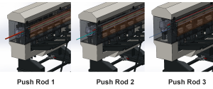 push rod changing
